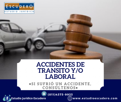 Accidentes de transito y/o laborales